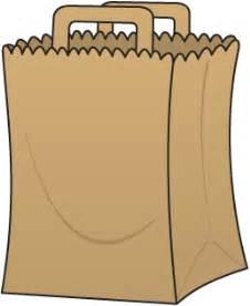Brown paper bag book report